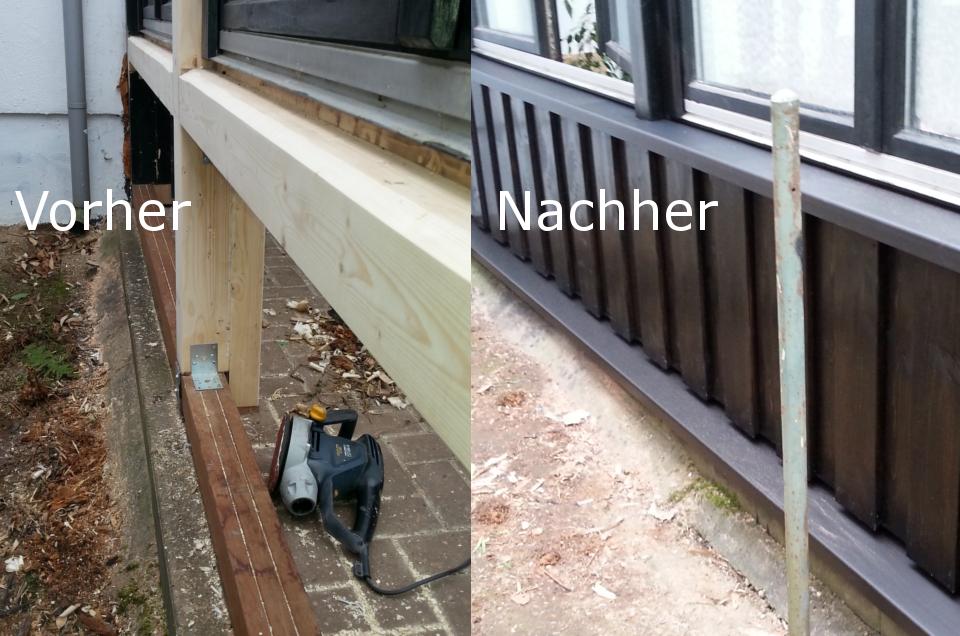 Restaurierung Wintergarten